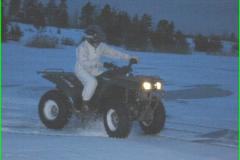 ATV - Metsas ja jääl pimedas