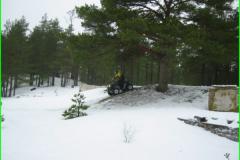 ATV - Vähe lund, aga talvel ka lahe